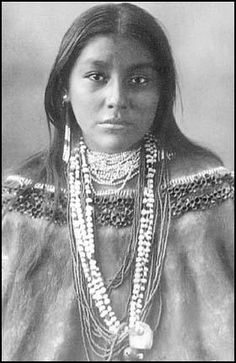 Cherokee Indian Women Warrior | Mattie Tom