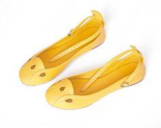 Ballet flats  womens shoes  leather flats  flat by TheBalletBird