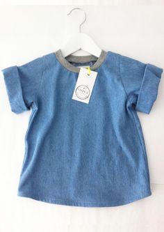 """T-Shirts - Shirt """"Luuk"""" - ein Designerstück von SNICE bei DaWanda"""
