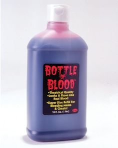 Halloween Pint of Plasma In Bottle