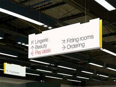 GTF - Internal wayfinding - Marks & Spencer