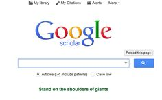 Use Google Scholar to find published papers and get alerts on new papers in your area of study. | 19 Internet Hacks Every Student Should Know
