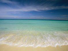 clear blue water - B