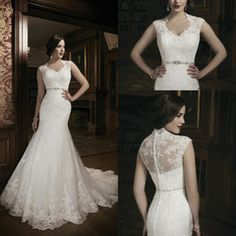 Buy Short Sleeve Wedding Dresses Online from Low Cost Wedding Dresses Wholesalers | DHgate