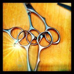 Olympic Rings  By Shai Amiel Hair Artist / Curl Doctor www.CapellaSalon.com www.twitter.com/ShaiAmiel