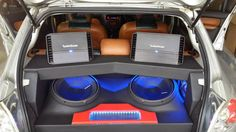 Super clean install from Car-Hi-Fi Specialists in South Africa displaying #Punch series amplifiers and two #Punch #P2 subwoofers