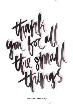 Love this brush lettering. Modern + Lovely.
