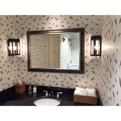 Love this image of our Free Fall wallpaper in the men's restrooms at Nantucket Golf Club in Massachusetts, USA. #feathers #drawing #illustration #wallpaper #wallcoverings #design #detail #luxury #homedecor #lifestyle #inspiration #interiordesign #bathroom #golfclub #golf #usa #interiors #luxuryliving