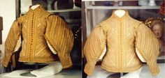 Womens Doublet Silk 1600's Front Full