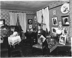 Mrs. Young's drawing room, Montreal, QC, 1896