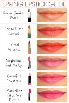 6 Must-Have Lipstick Shades for Spring