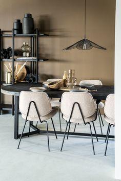 Retro Design, Beige, Art Deco, Dining Table, Interior, Latte, Furniture, Bohemian, Home Decor