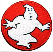 GHOSTBUSTERS iron on patches movie TV Shirt Cap Suit jacket patch biker embroidery appliques accessoriy badge(China (Mainland))