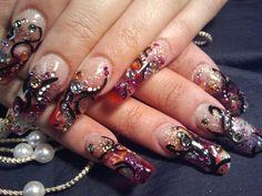 28 Best Exotic Nail Art Images On Pinterest Fingernail Designs