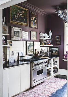 Une Cuisine Avec Une Personnalité. Cuisine Blanche, Déco Maison, Cuisine  Kitchen, Cuisine