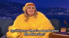 Rebel Wilson Shares Her Excellent Censored Joke About One Direction