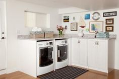 These designs prove a laundry room can be both stylish and packed with time-saving touches.