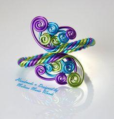 Wire Jewelry Earrings, Loc Jewelry, Jewelry Show, Wire Wrapped Jewelry, Jewellery, Wire Jewelry Designs, Handmade Wire Jewelry, Wire Crafts, Jewelry Crafts