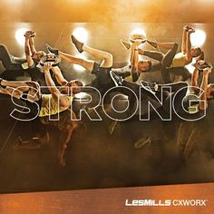 Strong: having the power to move heavy weights or perform physically demanding tasks. #CXWORX, anyone?!