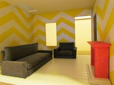 My Dollhouse / Living Room - Oct 2011 by Jessie {Creating Happy}, via Flickr