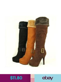 f2146b76c1 Blossom Fashion Boots #ebay #Clothing, Shoes & Accessories. Fos Investments  · Knee High Boots