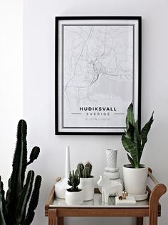 Personalised Maps - Mad About The House