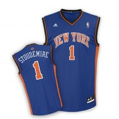 feb7a529b adidas Youth Knicks Stoudemire Revolution 30 Replica Road Jersey New York  Knicks
