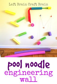 Pool Noodle Engineering Wall LBCB 1081