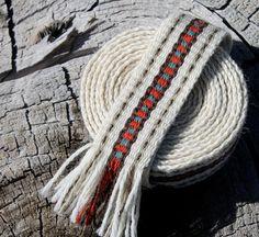 Inkle Weaving Wool Band by inkleing on Etsy, $28.00