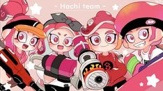 Splatoon Squid, Nintendo Splatoon, Splatoon 2 Art, Splatoon Comics, Nintendo Characters, Manga Characters, Fictional Characters, Callie And Marie, Manga Comics