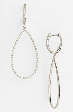 Bony Levy Diamond Teardrop Earrings (Nordstrom Exclusive) available at #Nordstrom