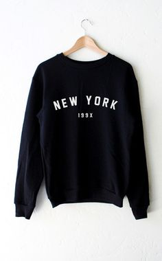 New York 199x Sweater - Black