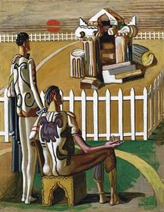 Find artworks by Giorgio de Chirico (Italian, 1888 - on MutualArt and find more works from galleries, museums and auction houses worldwide. Italian Painters, Italian Artist, Traditional Paintings, Contemporary Paintings, Information Art, Art Cart, Art Prints For Sale, Arte Popular, Weird Pictures