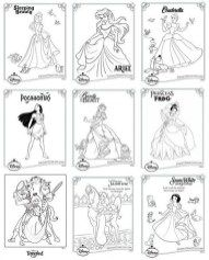Princes Coloring Games