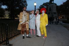 American Fast Food Legends, The Burger King cartoon mascot for the fast-food chain Burger King, Wendy's Fast Food orange hair girl in pigatils, Colonel Harland Sanders Kentucky Fried Chicken aka KFC and Ronald Mcdonald clown McDonald's Hamburger Rest Somewher theres a new me...maybe here?  Healthy-4you.com