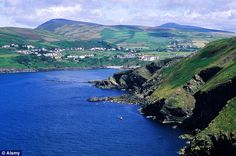 The Isle of Man - Great pic of Port Erin Bay and the southern hills