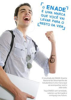 Cartaz 1 - Campanha ENADE (Univás)