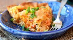 τάρτα με κοτόπουλο και blue cheese #tart #Pillsbury