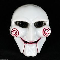 Saw Mask Halloween Prop Puppet Masquerade Party Movie Face Costume Stage