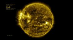 One-year timelapse video of the sun shows its dancing corona #Science #iNewsPhoto