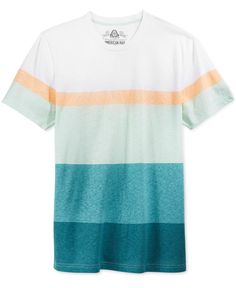 American Rag Men's Bold Stripe T-Shirt, Only at Macy's