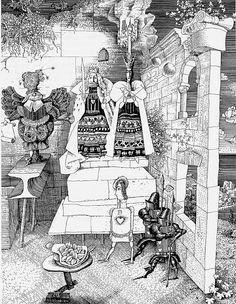 çizgili masallar: Alice's Adventures in Wonderland by Gennady Kalinovsky Part 2