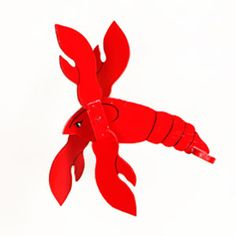 Swimming Lobster Whirligig