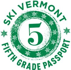 If you've go a 5th grader, you've go no excuse not to get them skiing or riding! It is FREE! | Ski Vermont 5th Grade Passport