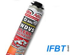 ETICS-Adhesive Foam, PU-Adhesive for the safe bonding of  insulation boards onto house facades, Styrodur, Styrofaom, Polystyrene, rock wool EPS