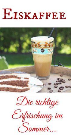 Es gibt noch nichts besseres im Sommer als ein leckeres Stück Kuchen mit einem Eiskaffee. Ich liebe das im Sommer. Eiskaffee ist im Thermomix wirklich ein Kinderspiel und sooo lecker.