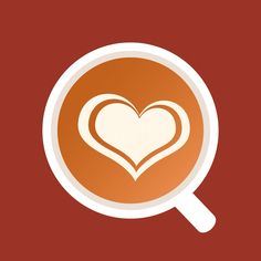 'Coffee Talk' logo 22  I kinda like the implied overhead view.  #logos #branding #coffee #design #conceptdesign #latteart #logo #fishjoy