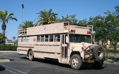 school bus conversions to motorhomes | photo