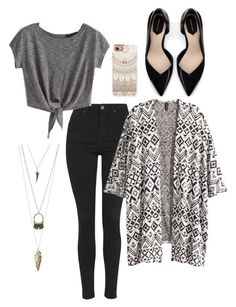 """""""Untitled #37"""" by cristina-unzicker on Polyvore featuring Topshop, H&M, Charlotte Russe, Casetify and Zara"""