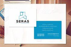 Aplicación de imagen corporativa de SERAS a tarjeta (realizado para CGDesign)